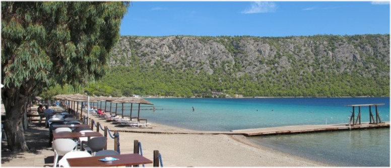 Λίμνη Βουλιαγμένη Λουτρακίου